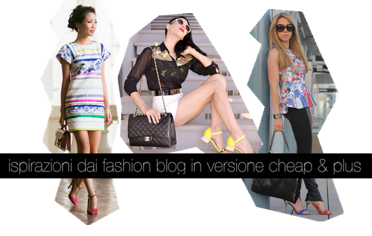 i look delle top fashion blogger in versione cheap & plus
