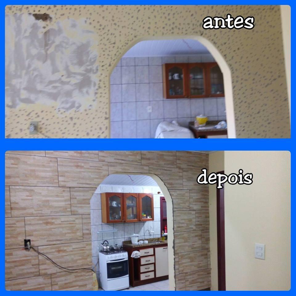 CONSTRUTORA JK Revestimento interno de paredes ~ Revestimento Interno Para Quarto