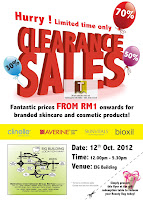 Clinelle Averine Warehouse Clearance Sale 2012