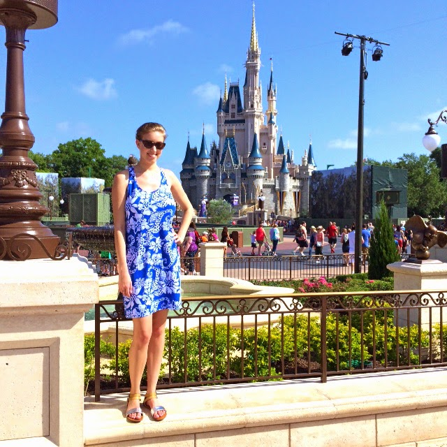 Lilly Pulitzer Disney Magic Kingdom New Hub