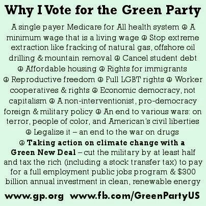 #GreenParty #GreenGovt #GreenNewDeal #VoteGreen