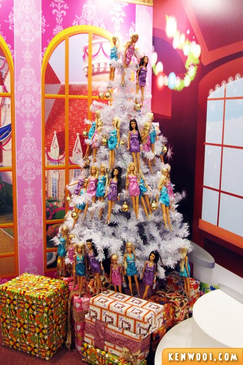 christmas barbie tree