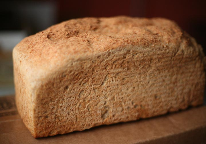 Gluten-free Gourmand: Sandwich Bread Recipe - Lower Fat