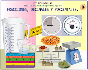 Kit internivelar para la enseñanza-aprendizaje de fracciones, decimales y porcentajes