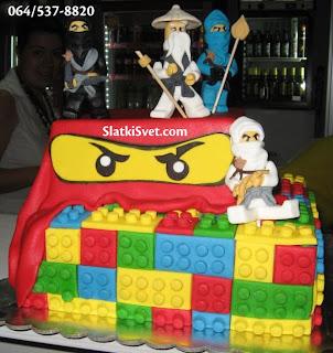 Torta ninjago - torte za decake