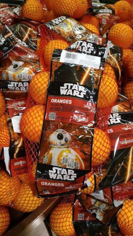 Das Bild des Tages: Star Wars Orangen - WTF?!