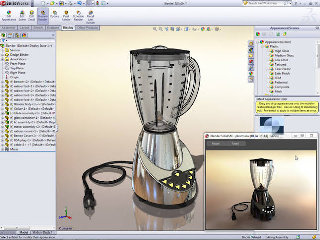 Juicer-solidworks-Model