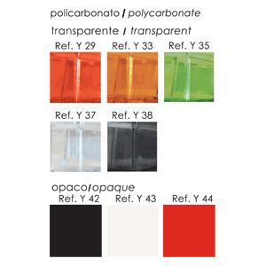 color silla transparente