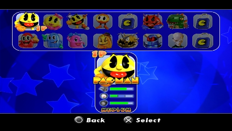 pac-man world rally game free