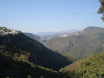View of the Canyon and the Mountains from the Guadalajara City Zoo