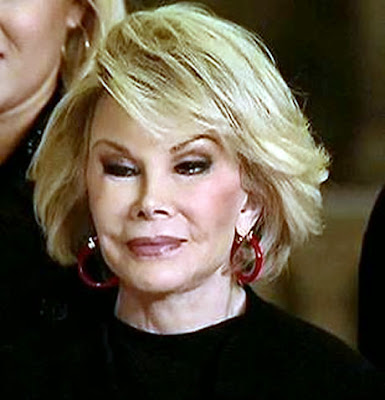 Joan Rivers dead selfie