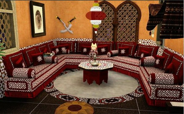 Le journal d 39 artisanat marocain d coration orientale for Decoration orientale moderne salon