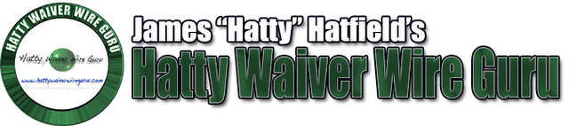 Hatty Waiver Wire Guru
