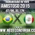 AMISTOSO - BRASIL x MÉXICO - 17hs - 07/06/15