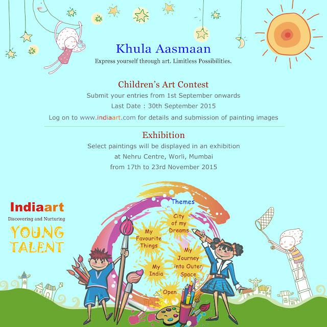 """Khula Aasmaan"" - Children's Art Contest announcement"