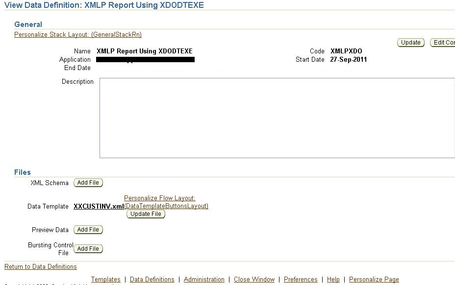 xml publisher using a data template and xdodtexe oracle apps. Black Bedroom Furniture Sets. Home Design Ideas