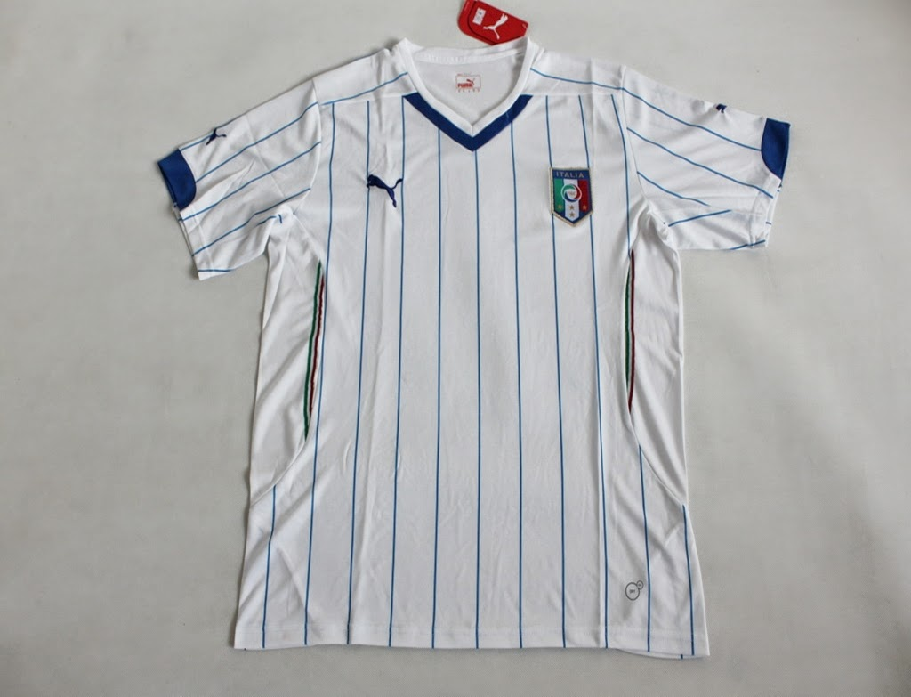 Italy Away Thailand Soccer Jersey Fans Version