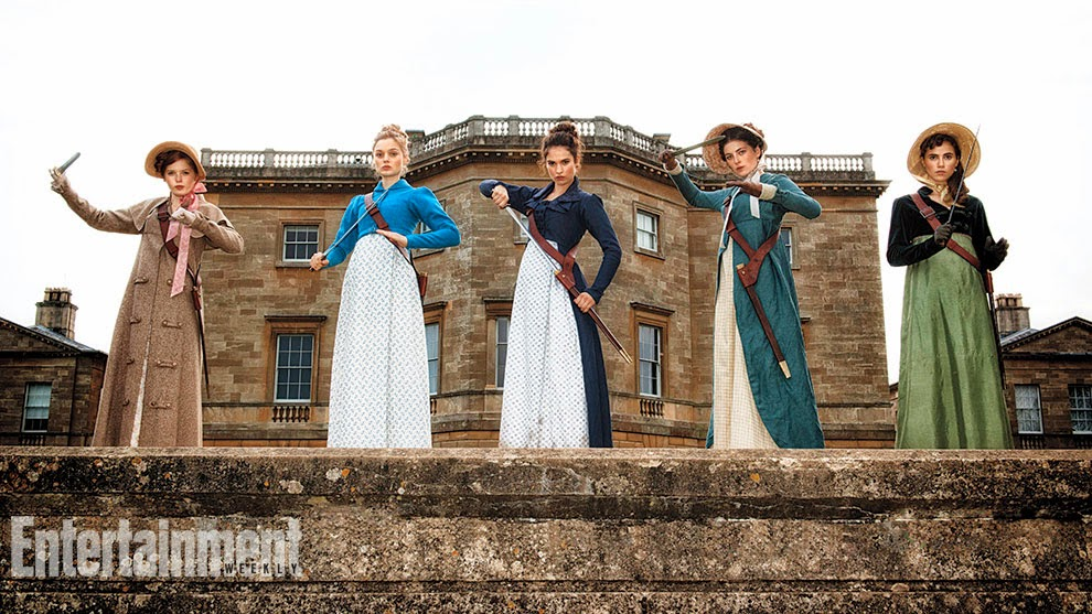 Pride and Prejudice and Zombies DVD Release Date May 31, 2016