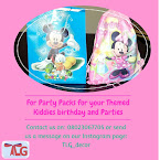 For your Event decor and Kiddies parties