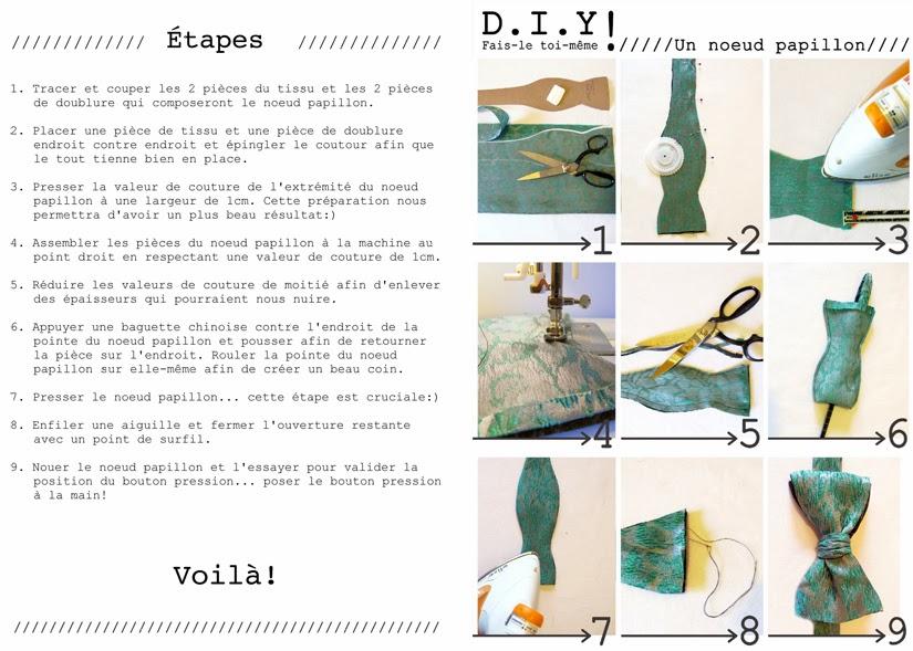 patron couture noeud papillon. Black Bedroom Furniture Sets. Home Design Ideas