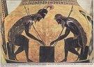 Επιτραπέζιο παιχνίδι στην αρχαία Ελλάδα.