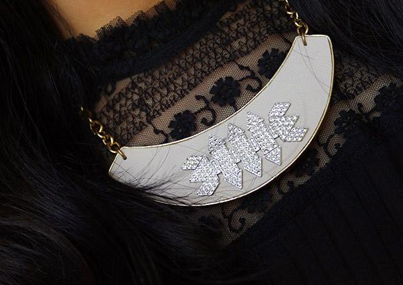 Rocksbox Sandy Hyun Pink Deco Collar
