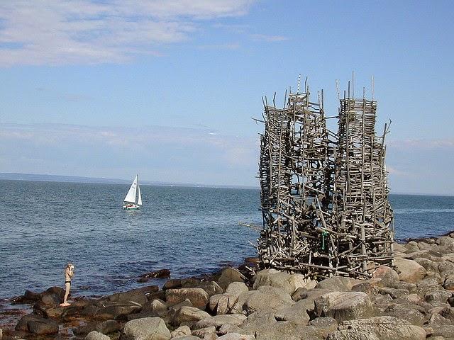 drewniana wieża Ladonia