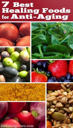 7 Best Healing Foods for Anti-Aging