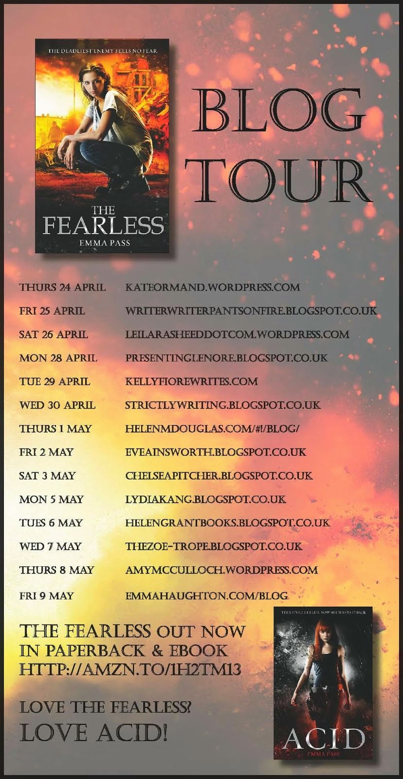 THE FEARLESS Blog Tour