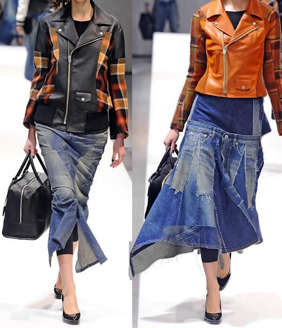 Jeans no inverno 2014