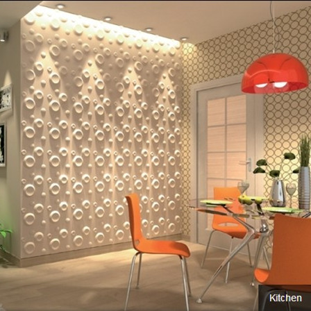 for 3d wall decoration panel
