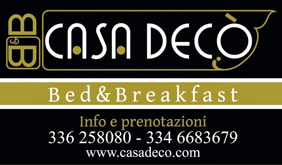 B&B CASA DECO' TARANTO - Via Nitti, 22  +39 333 7878176