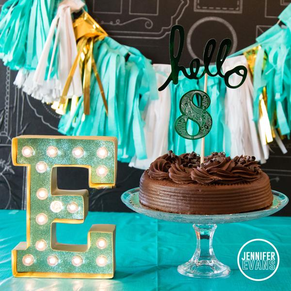 Heidi Swapp Minc and Marquee Love Birthday Party @heidiswapp @createoften #hsMinc #hsMarqueeLove #marquee #lights #foil #gold #diy