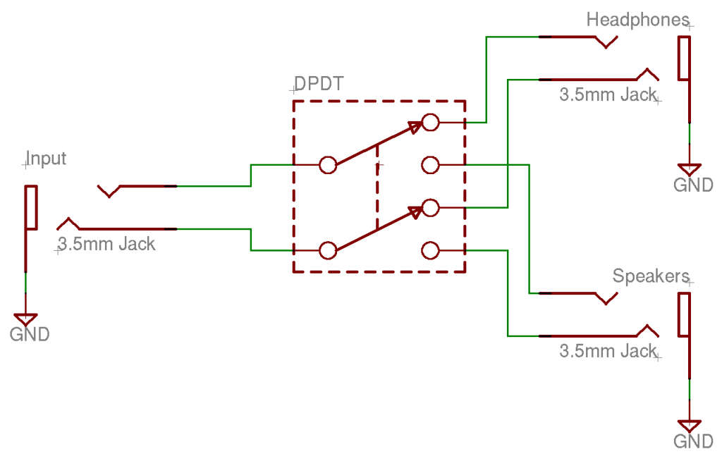 Dpdt Toggle Switch Wiring Diagram For Stereo Input - Circuit Diagram ...