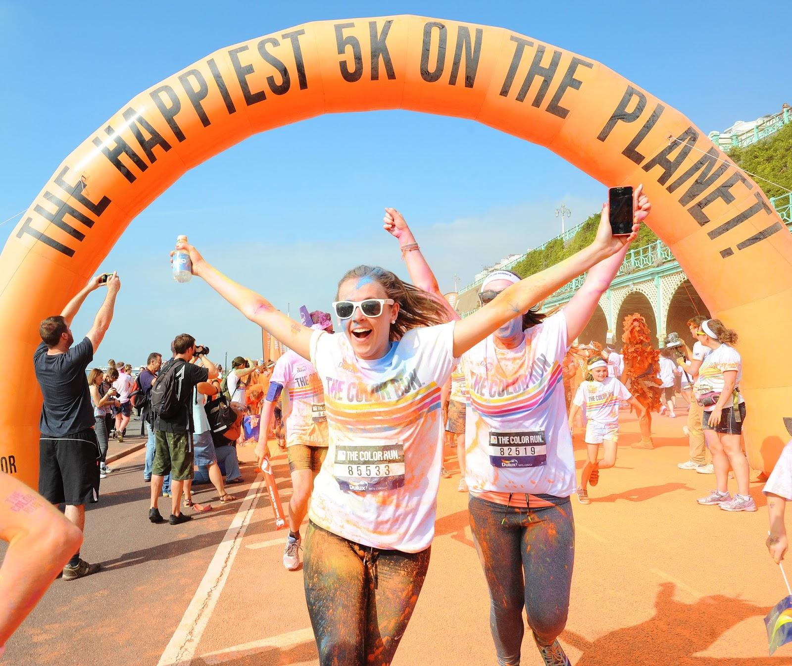 FitBits | Brighton Color Run 2014