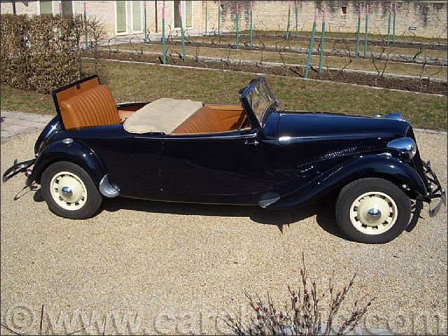 Citroen Traction 15 6 Convertible Replica By Lecoq Blog