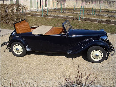 citroen traction 15 6 convertible replica by lecoq blog. Black Bedroom Furniture Sets. Home Design Ideas