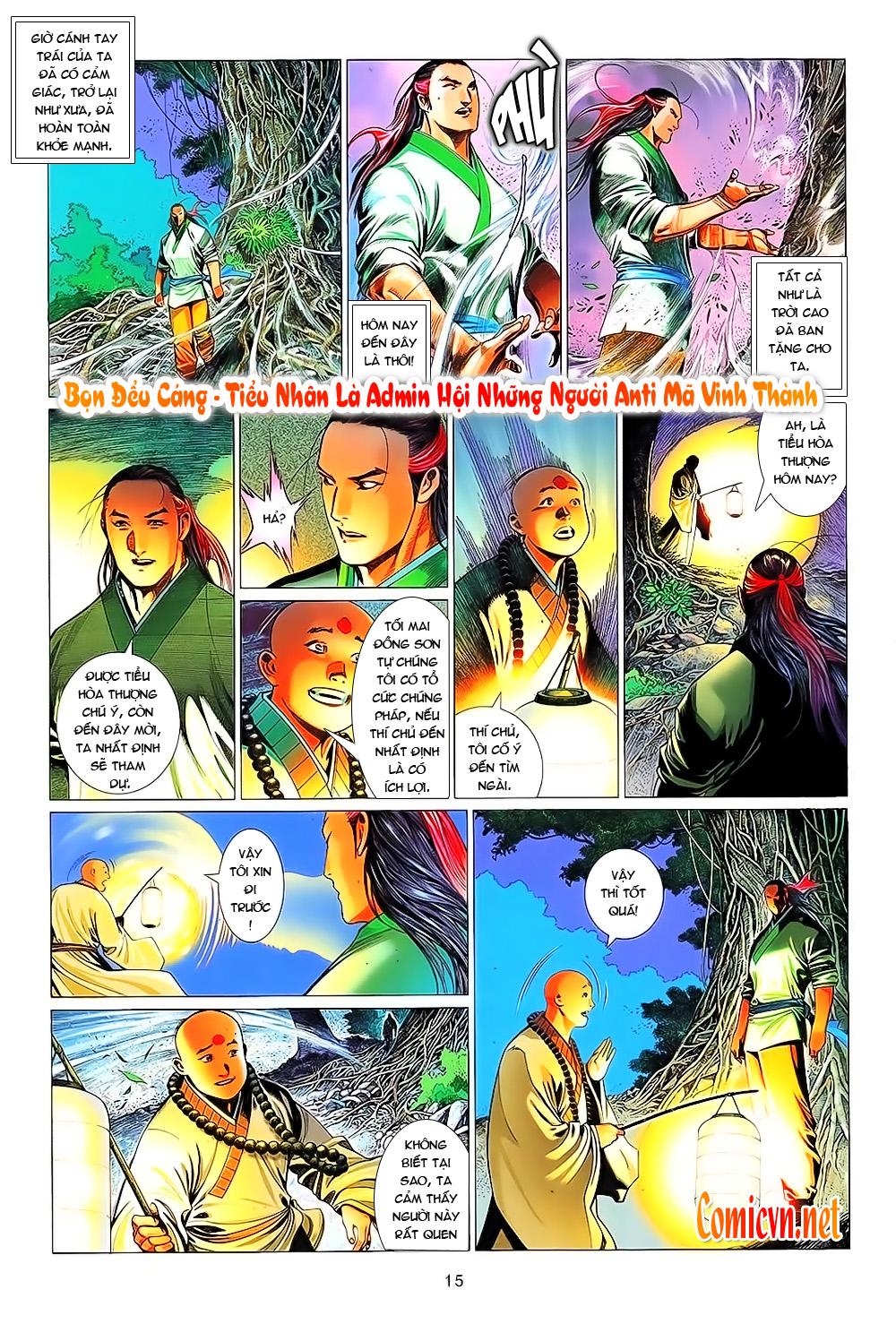 Phong Vân chap 638 Trang 12 - Mangak.info