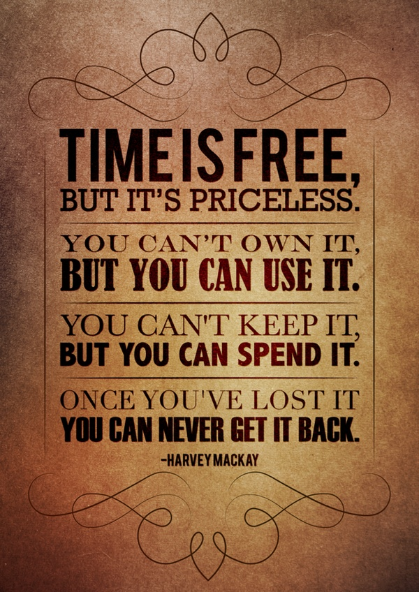 inspirational picture quotes time is free