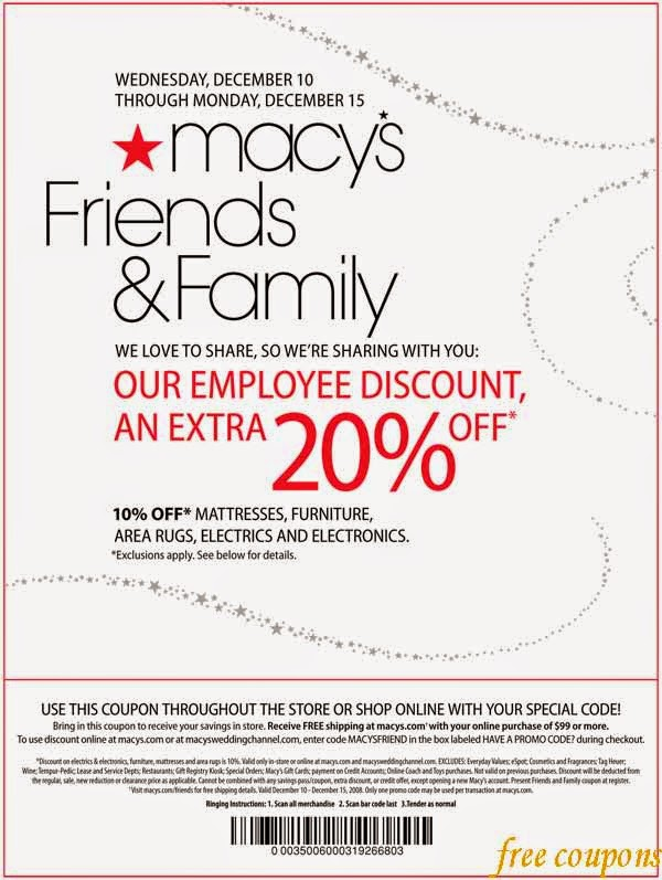 Macy's one day sale coupon june 2018