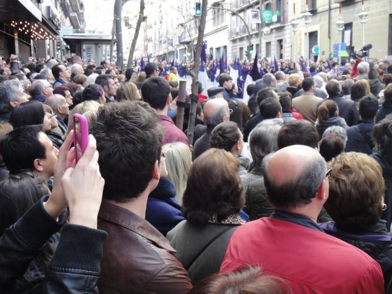 Espagne : procession du Vendredi Saint