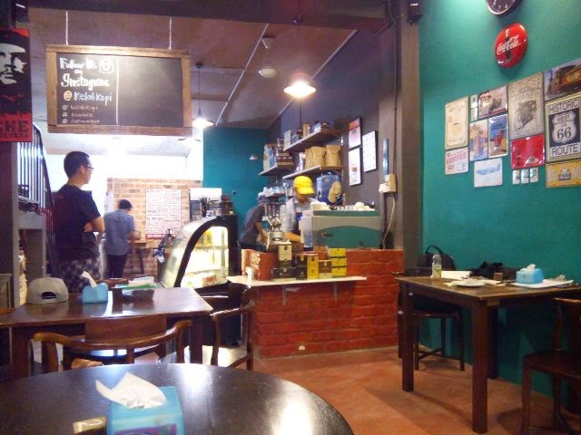 staff making our coffee