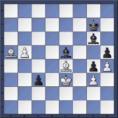 Les Noirs jouent et gagnent en 7 coups