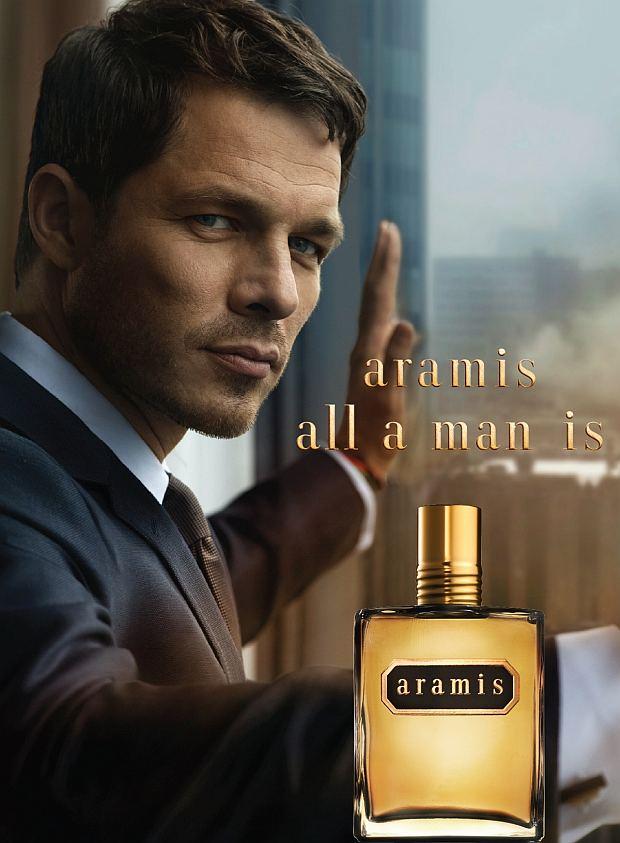 Reklama perfum Aramis