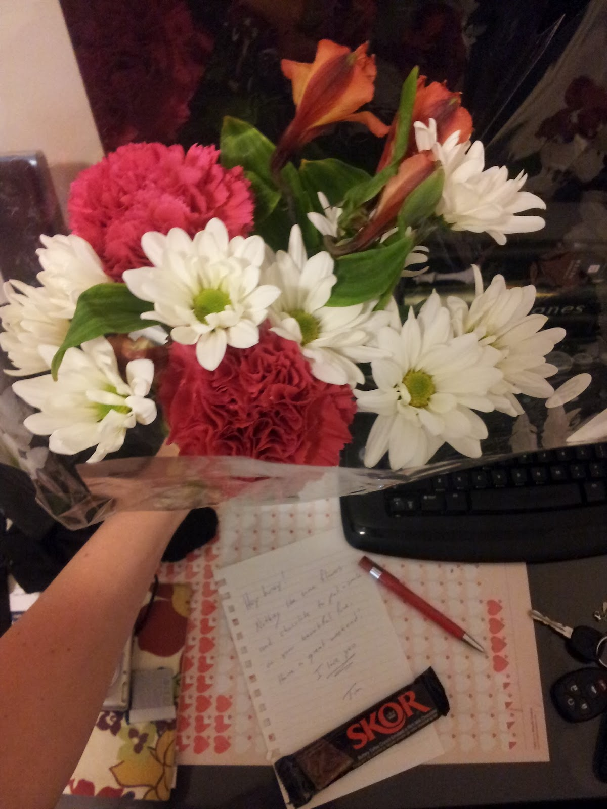 Only in Peterborough: The Best Boyfriend - Surprise Flowers!
