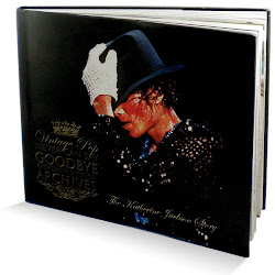 "LIVRO ""NEVER CAN SAY GOODBYE""  DE KATHERINE JACKSON"