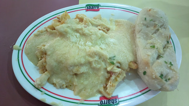 Meat Lasagna with Alfredo Sauce from Sbarro