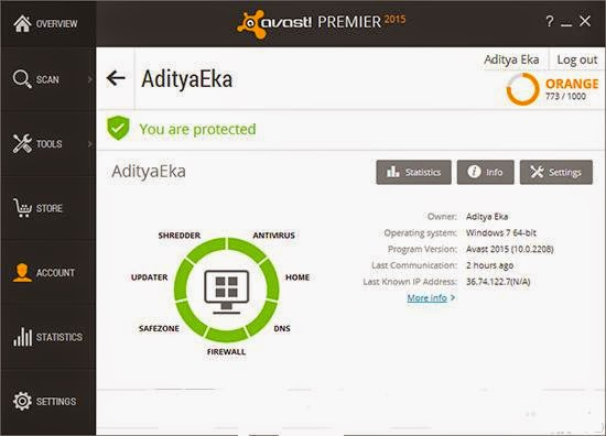 Avast Premier 2015 + Activator  screenshot by http://www.ifub.net/