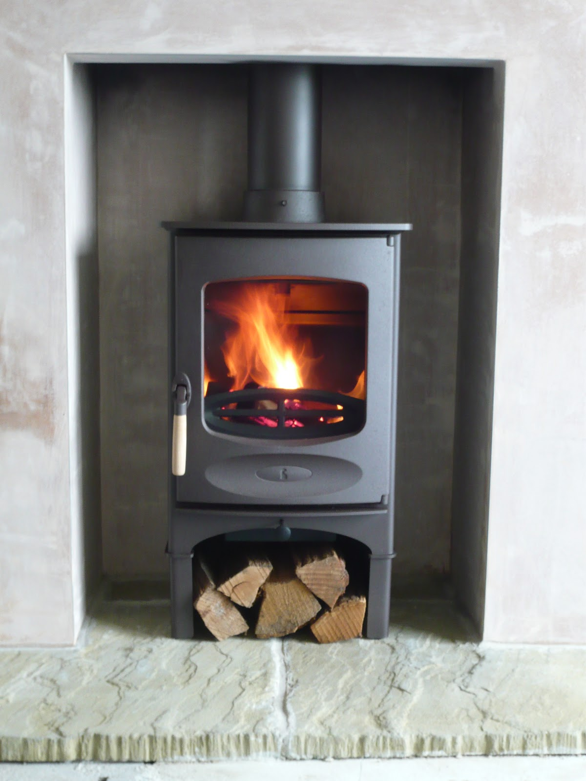 Redwood Stoves Ltd Cornwall Charnwood C Four With