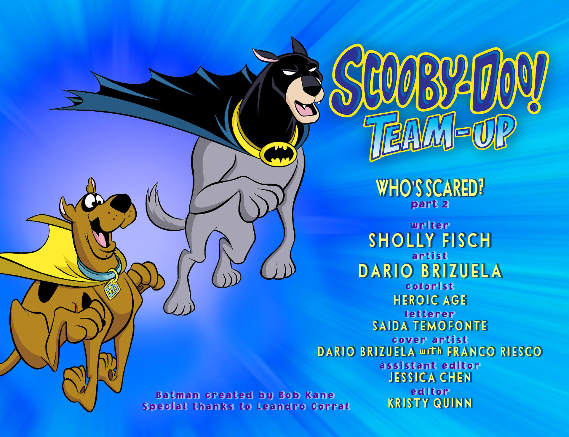 Read online Scooby-Doo! Team-Up comic -  Issue #4 - 2